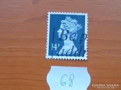 ANGOL 14 PENNY II. ERZSÉBET KIRÁLYNŐ 68.