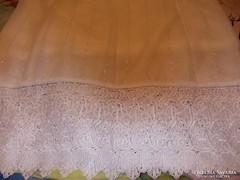 Gyönyörű török alsó részén csipke függöny(4 m széles)