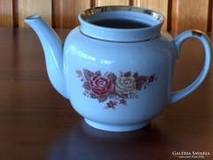 Nagyon szép rózsás tea kiöntő, hibátlan