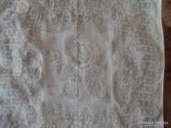 1319. Díszzsebkendő - nyomott mintás