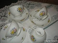 Egyedi VIOLETTA porcelán  teás csésze  2 dl-es kedvezménnyel