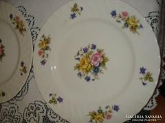 Egyedi VIOLETTA porcelán süteményes tányér 6 db kedvezményes