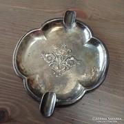 Régi ezüst hamutartó