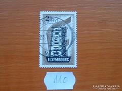 """LUXEMBURG 2 FRANK """"EUROPA"""" SOR RÉSZE 110."""