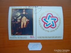 ROMÁNIA 40 BANI FESTMÉNY 1776-1996 135.
