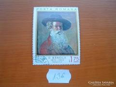 ROMÁNIA 1,75 LEI FESTMÉNY 136.