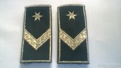Őrmesteri cső vállapok