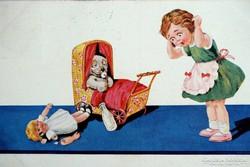 SWSB  BONZO képeslap gyűjteményből  ---1931ben futott