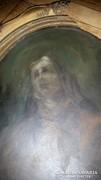 Antik olaj festmény fárra!!!Jelezve:Lotz K.