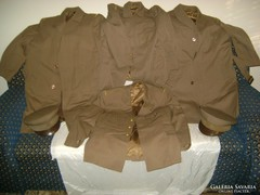 Katonai egyenruha - hat darab