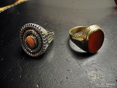 2 darab nagyméretű férfi pecsétgyűrű