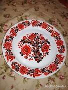 Alföldi retró népies süteményes tányérok 4 db