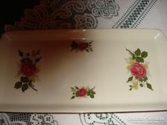 RENDKÍVÜLI AJÁNLAT!   Porcelán  kínáló tál, tálca 35 x 16