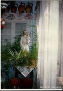 József szent fiával (gipszszobor: 82 cm x 25 cm)