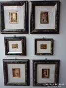 Certifikált miniatűr gyűjtemény.......6 db