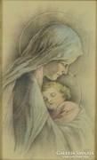 0M152 Dévényi : Madonna gyermekével 1958