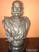 I.Ferenc József magyar király bronz szobor