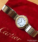 CARTIER SANTOS Karora 32mm, Ladies, Steel-Gold Wristwatch