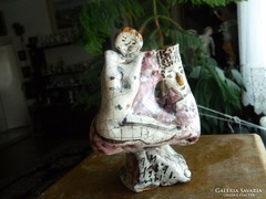 Geszler Mária kerámikus művész különleges alkotása