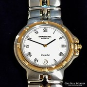 RAYMOND WEIL Ladies Karora Steel es 18k Arany Parsifal Watch