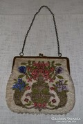 Varrott üveggyöngyös színházi táska   02 ( DBZ 0016 )