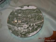 Angol süteményes tányér   14cm