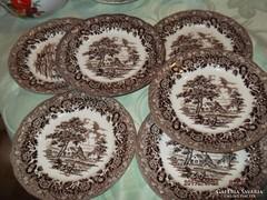 Angol süteményes tányér   15  cm   6 darab