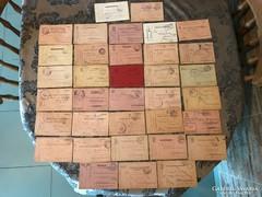I. világháború 35 db. tábori levelezőlap