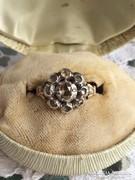 Antik gyémánt gyűrű