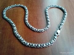 Egyedi kézműves ezüst nyaklánc