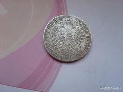 1879 ezüst 1 Florin gyönyörű darab,szép patina