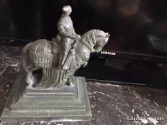 Sidló F.lovas szobor/A nemzeti áldozatkészség szobra,1915
