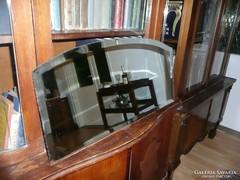 Antik Art Deco  csiszolt tükör eladó 66*32 cm