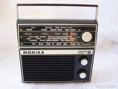"""Retro """"Monika"""" (Unitra) táskarádió!"""