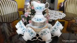 Queen Anne márkájú 21db-os teáskészéet