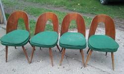 Tátra Nabytok (Antonin Suman tervezte) székek