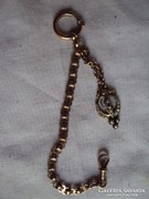 Gold filed Zsebóra lánc díszével