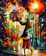Leonid Afremov: Rainy mood