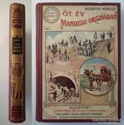 Magyar Földrajzi Társaság - Gubányi: Öt év Mandzsu országban