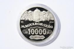 Magyar Nemzeti Bank ezüst emlékpénzérme