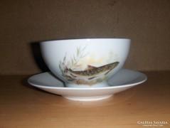 Hal leveses vagy mártásos Bavaria porcelán tál (16/K)