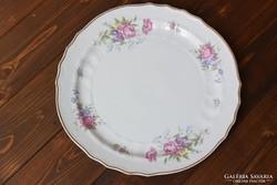 Hatalmas hollóházi porcelán kínáló tál