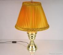 0M342 Nagyméretű réz színű asztali lámpa állólámpa