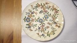Zsolnay századfordulós perzsamintás tányér. 20 cm.