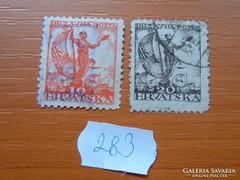 SZERB HORVÁT SZLOVÉN KIR. 10+20 (MAGYAR) FILLÉR 1919 283.