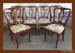6db mutatós szék,étkező asztalhoz