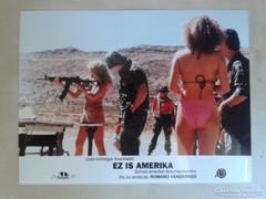 Ez is Amerika c. film mozi reklám vitrin fotói 7 db
