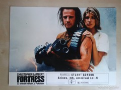 Fortress, 33 emelet ... c. film mozi vitrin fotói 11 db