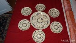 Zsolnay 6 személyes süteményes készlet