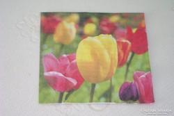 Eladó szalvéta tulipán mintás